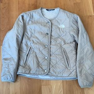 North Face Girls Jacket  Sz S (7/8)